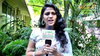 Manisha Ajith At  Inaya Thalaimurai Team Interview