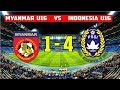 Timnas Indonesia U16 Libas Myanmar 4-1 ● 14/6/2017