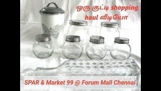 ஒரு குட்டி Shopping Haul வீடியோ  | SPAR & Market 99 at Forum Vijaya Mall Chennai