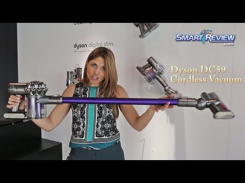 Dyson 2014   Dyson DC59 Animal Cordless Vacuum Demonstration   Dyson's Best   Cordless Review