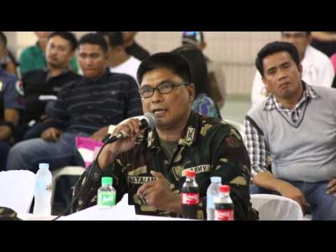 Sen. Bongbong Marcos - Public Hearing for the Bangsamoro Basic Law in Cotabato City. 8 October 2014