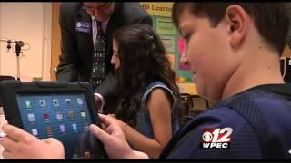 Meyer iPad Program on CBS 12