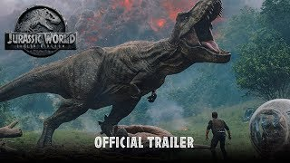 Jurassic World Fallen Kingdom  Official Trailer HD