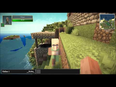 Minecraft Seed Vorstellung 1.5.2 #003 - Dorf und Stronghold am Spawnpunkt [Deutsch] [HD]