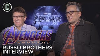 Russo Brothers Interview Avengers Endgame