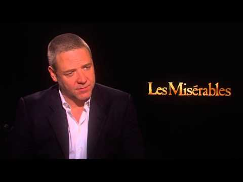 Russell Crowe's Official 'Les Miserables' Interview - Celebs.com