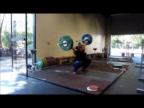 Chris Trefil Three PRs - 220kg Total, 100kg Snatch and 120kg Clean and Jerk Image 1