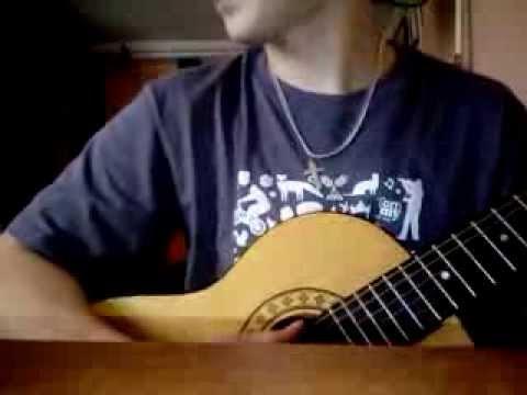 Эльбрус Джанмирзоев - Глаза карие(разбор на гитаре)