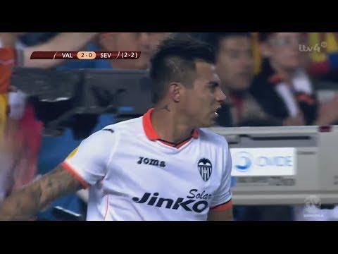 Valencia 3 - 1 Sevilla HIGHLIGHTS | ESPAÑOL/SPANISH | HD All Goals | UEFA europa league [01/05/2014]
