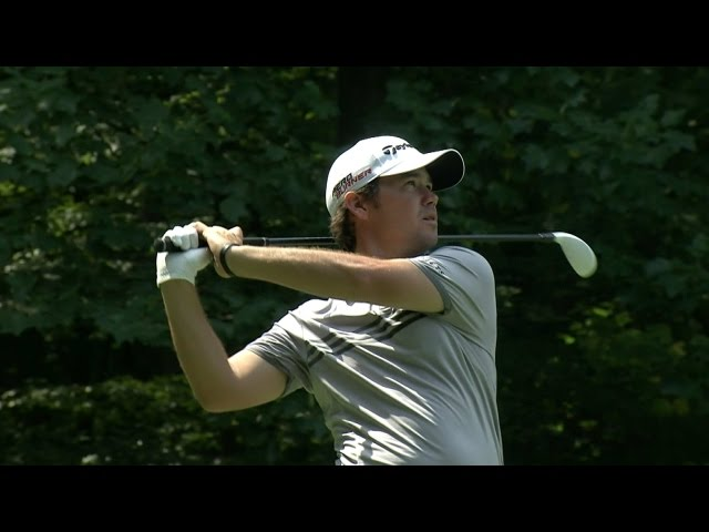 Brian Harman cards his second ace of Round 4 at The Barclays