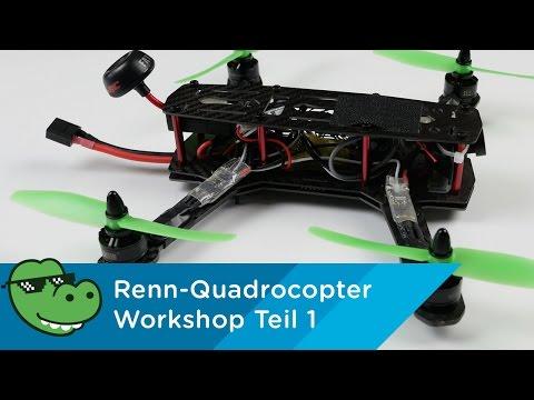 Racing Quadrocopter Workshop Teil 1 - Die Grundlagen [Mydealz 4K]