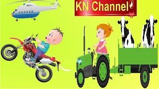 Bé Na VÀ BÀI HỌC AN TOÀN GIAO THÔNG | KN Channel  Hoạt hình Việt Nam | GIÁO DỤC MẦM NON