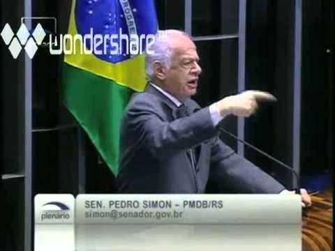 Discurso Histórico Senador Pedro Simon julgamento Mensalão