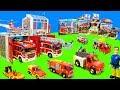 Alle Feuerwehrautos: Feuerwehrmann Sam, Playmobil, Lego Dublo & Paw Patrol | Spielzeug Unboxing