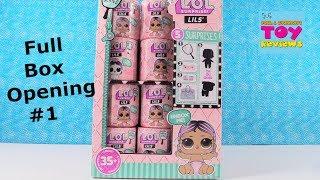 LOL Surprise Lils Full Box Series 1 Boy Girl Pet Blind Bag Opening | PSToyReviews