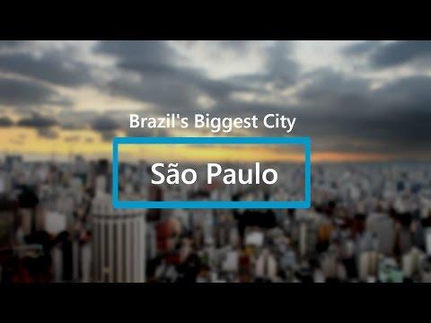Sao Paulo, Brazil - Biggest City in the World #11