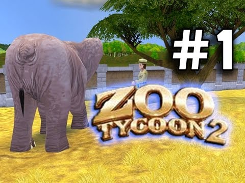 Zoo Tycoon 2: THE FUN PARK Ep. 1 - Mini-Elephants