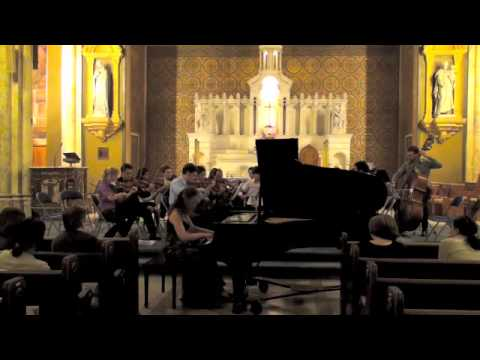 Kokolo String Ensemble with Kariné Poghosyan, Haydn Piano Concerto in F, III