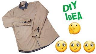 New idea from Shirt // Diy Idea // by Simple cutting