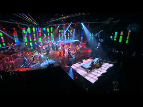 Lmfao - Party Rock Anthem Live Xfactor Australia video