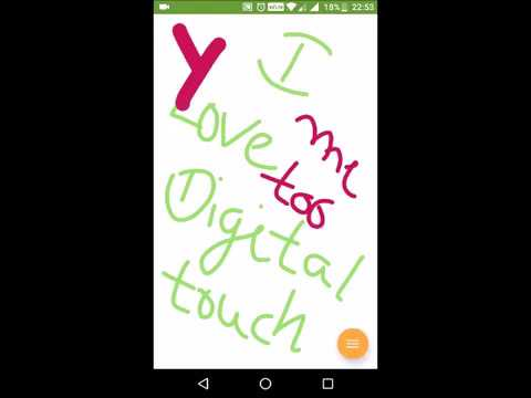 Digital Touch : Create colorful digital signature APK Cover