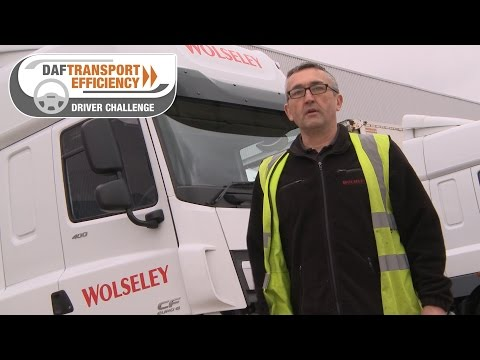 DAF Transport Efficiency Driver Challenge - Meet the Finalists: Jonny Brown