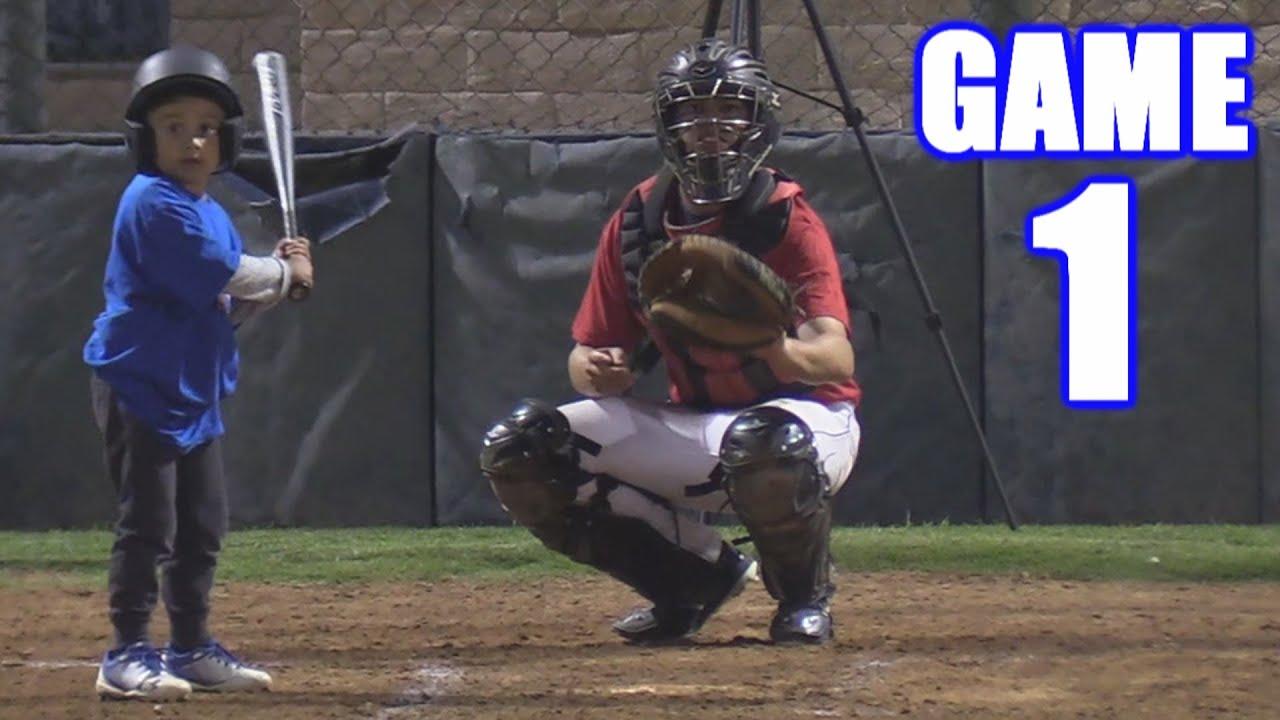 OUR FIRST BASEBALL GAME!   On-Season Baseball Series   Game 1