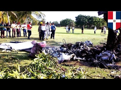 Dominican Republic Plane Crash: Seven dead after light aircraft crashes onto golf course