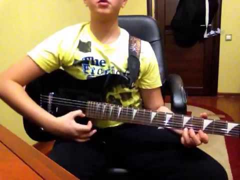 Простая но крутая мелодия на гитаре