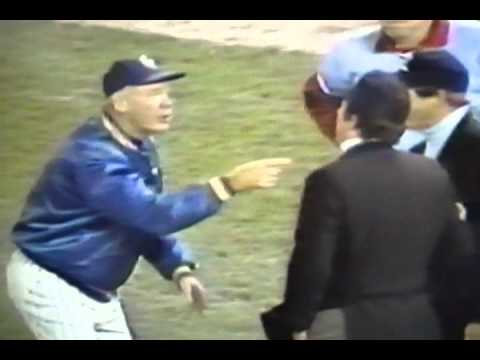 "Managers ""Tommy Lasorda"" ""Joe Torre"" Argue With Umpires!"