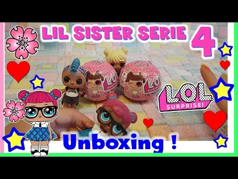 LOL SURPRISE serie 4!! APRIAMO DUE NUOVE LIL - Toy hunting unboxing by Lara e Babou