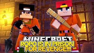 Minecraft Adventure - ROPO & JACK GET REVENGE ON PRISON BULLIES!!!