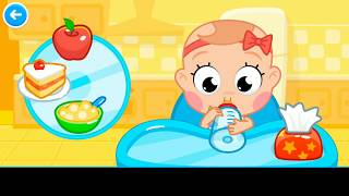 Sweet Baby Girl Daycare - Bath Time Dress Up Feeding Bedtime Kids Gameplay new