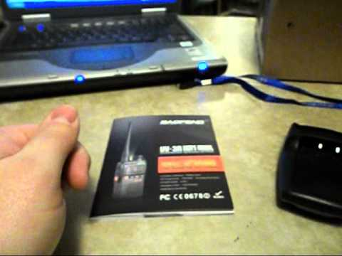 Communications - Unboxing/Review Baofeng UV-3R