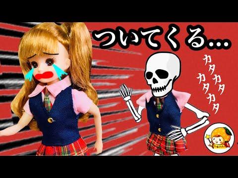 動くガイコツ【怖い話】 理科室から消えて家までついてくる!!