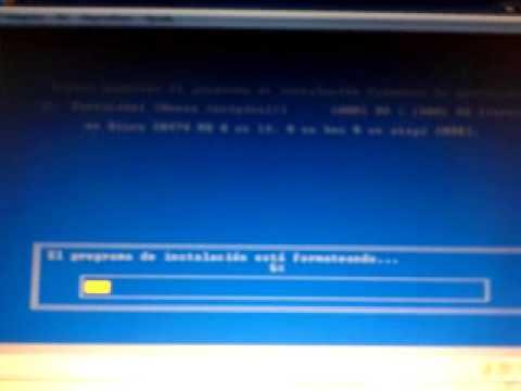 reinstalar el sistema operativo