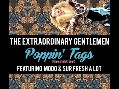 Poppin' Tags (Thrift Shop Remix) [feat. Modo & Sur Fresh A Lot]