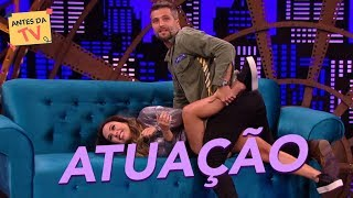 Bruno Gagliasso e Tatá Werneck em um quadro de tirar o fôlego!   Lady Night   Humor Multishow