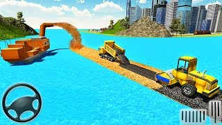 River Road Builder RoadWorks - 3D Construction Simulator - Android GamePlay