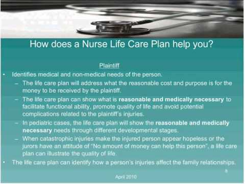 The TASA Group Inc  Presents  Strategies for Calculating Future Medical Costs SD clip15 Photo Image Pic