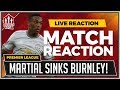 Burnley 0 1 Manchester United | Anthony MARTIAL Goal Wins It!
