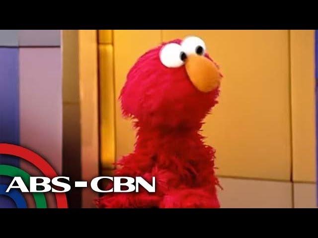 WATCH: Sesame Street's Elmo in Manila to spread kindness