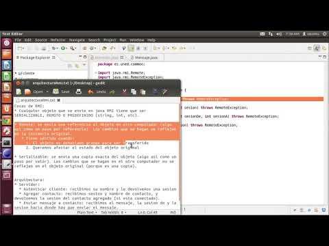 Sistemas Distribuidos - Practica Java RMI (UNED)