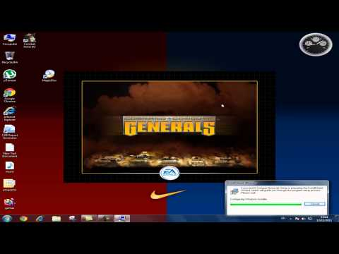 how to install and download command and conquer generals zero hour