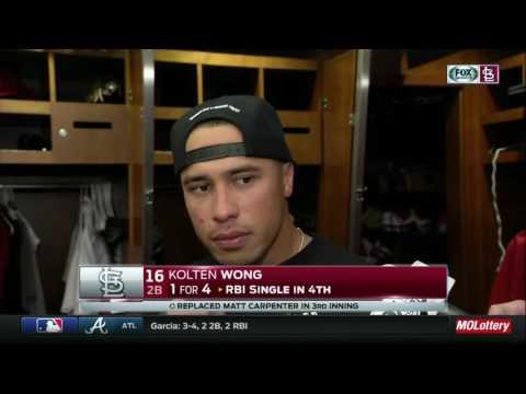 Kolten Wong has empathy for Matt Carpenter on oblique injury