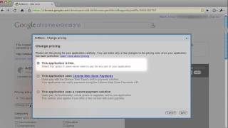 How to upload your app to the Chrome Web Store