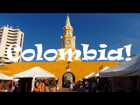 COLOMBIA TRAVEL: How to Travel in Colombia SUPER CHEAP!!