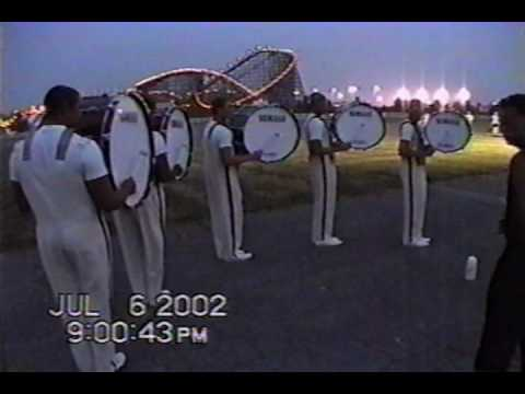 The Cadets Drumline 02 - Basses Accent Tap