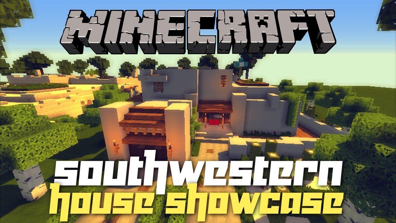 Minecraft Adobe House Tour