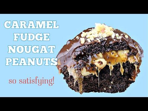 Snickers Brownies || Gretchen's Vegan Bakery thumbnail